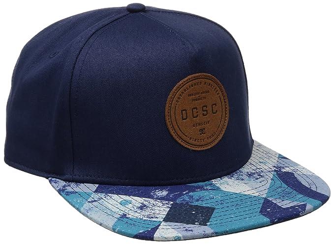 DC - Gorra de béisbol - para Hombre Blue Geo Rusto: Amazon.es: Ropa y accesorios