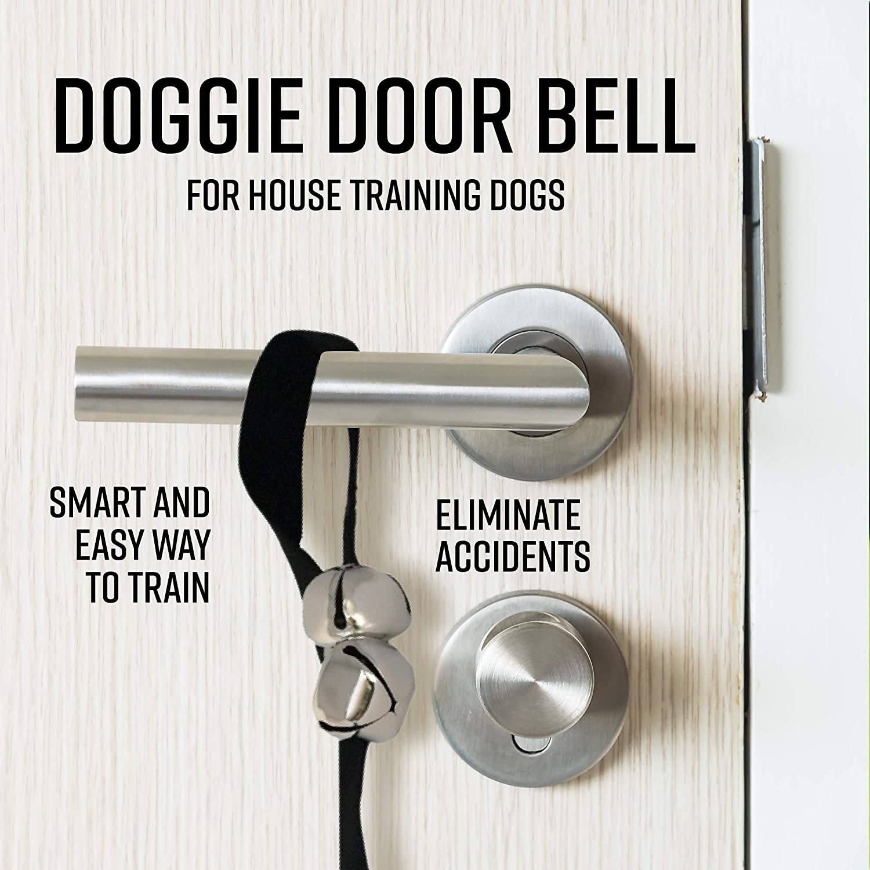 Dog Bells for Door House Training Adjustable Door Bells Cat and Dog Training Supplies Puppy and Kitten Training Bells ARAD Door Bells for Pet Potty Training