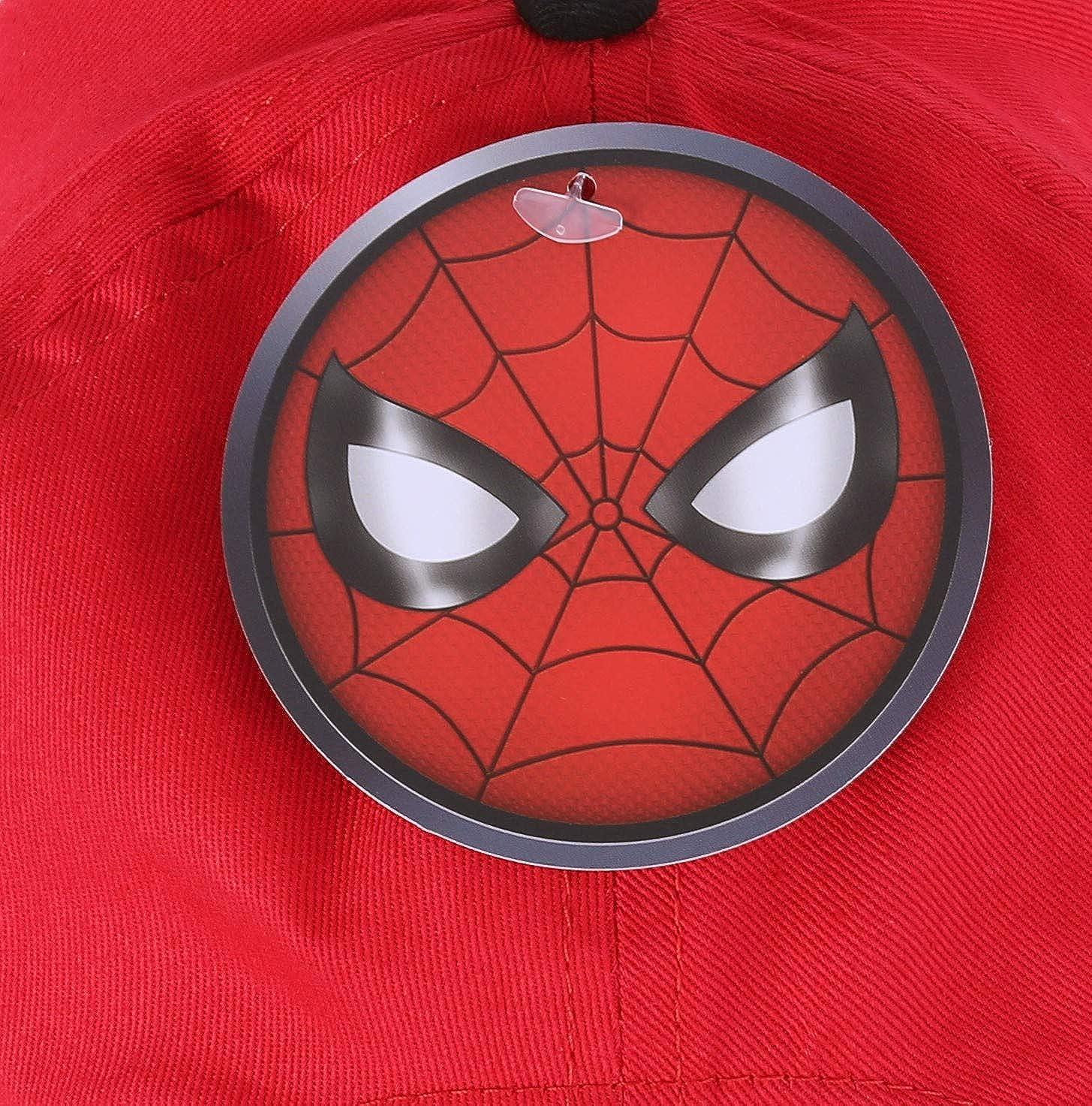 Gorra Spiderman Color Rojo