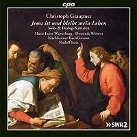 Graupner: Jesus Bleibt Leben [Marie Luise Werneburg; Dominik Wörner; Kirchheimer BachConsort; Rudolf Lutz ] [Cpo: 555215-2]