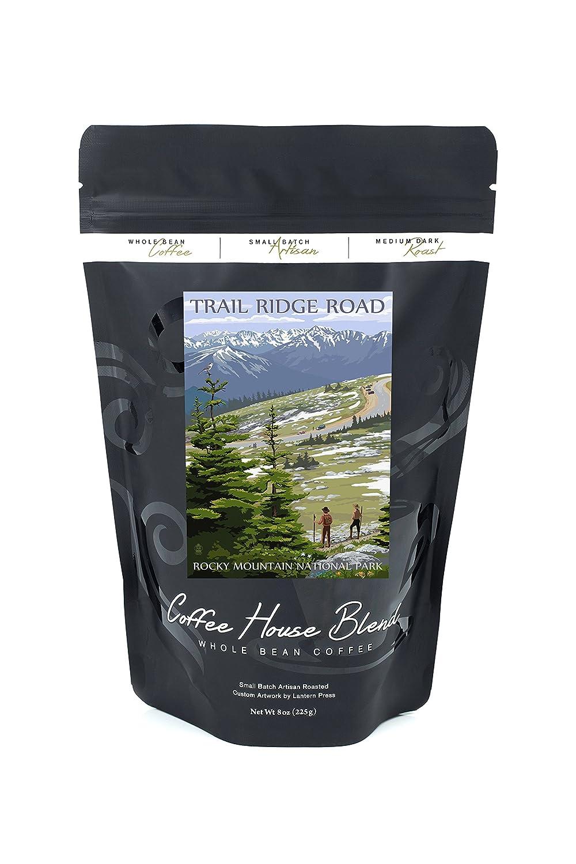 Trail Ridge Road – ロッキーマウンテン国立公園 B074RYT4SM 8oz Coffee Bag8oz Coffee Bag