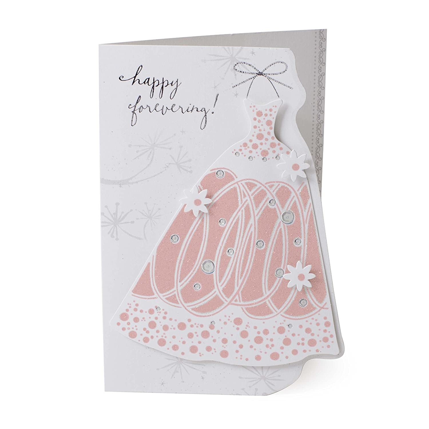 c9f1e57111e0 Amazon.com   Hallmark Wedding Shower Card (Dress)   Office Products