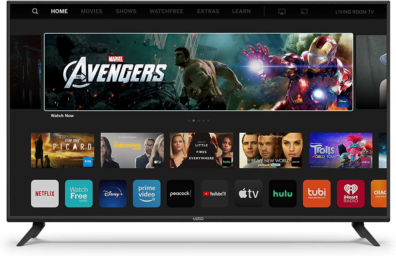 VIZIO 40-Inch V-Series - 4K UHD LED HDR Smart TV with Apple AirPlay and Chromecast Built-in, Dolby Vision, HDR10+, HDMI 2.1, Auto Game Mode and Low Latency Gaming (V405-H69, 2020) (Renewed)