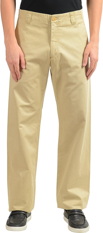 Gianfranco Ferre Mens Beige Casual Pants US 32 IT 48