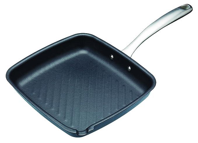 Master Class - Grill antiadherente para inducción (26 cm): Amazon.es ...