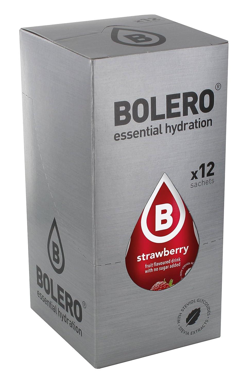 Bolero Classic Strawberry - Paquete de 12 x 9 gr - Total: 108 gr: Amazon.es: Salud y cuidado personal