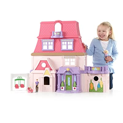 Fisher-Price Loving Family Dollhouse: Toys & Games