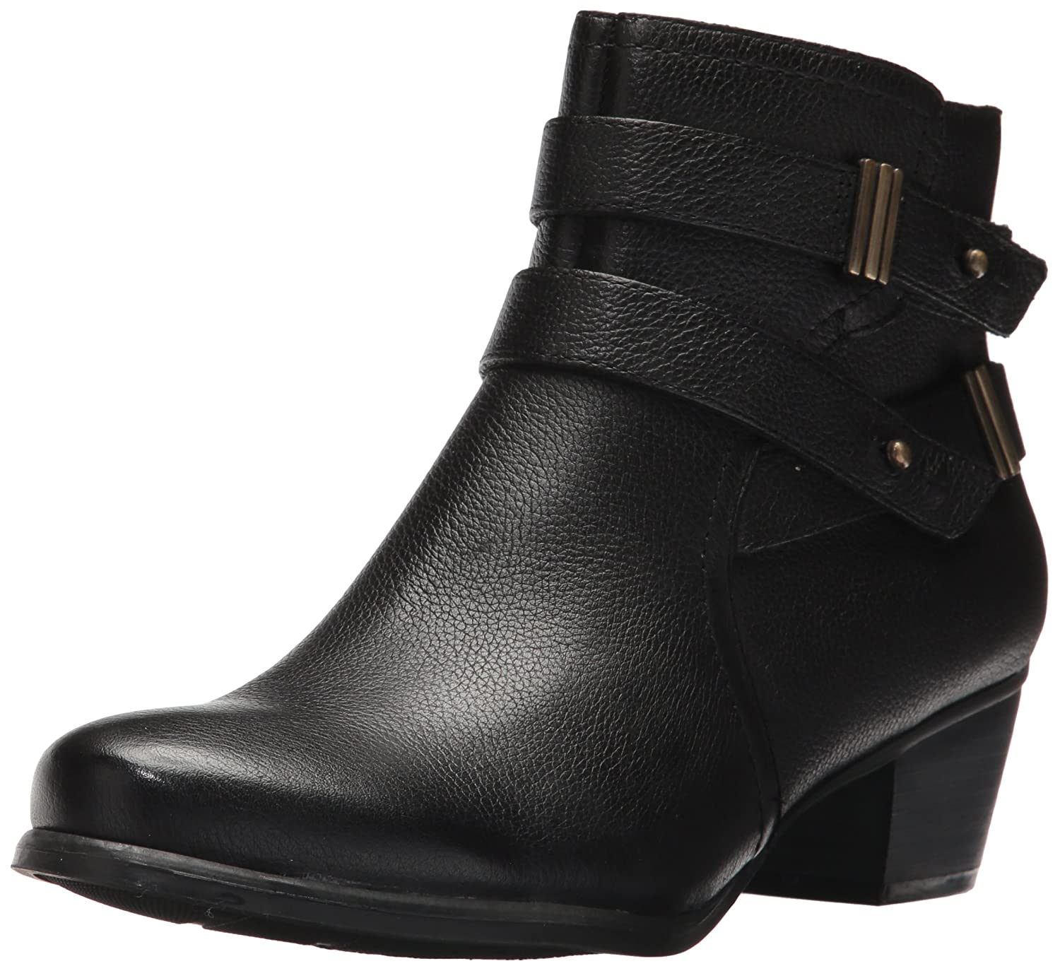 Naturalizer Womens Kepler Leather Closed Toe Ankle Fashion Boots B06ZY6VD92 8 C/D US|Black Leather