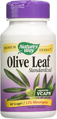 Natures Way – Olive Leaf – 60 Vcaps