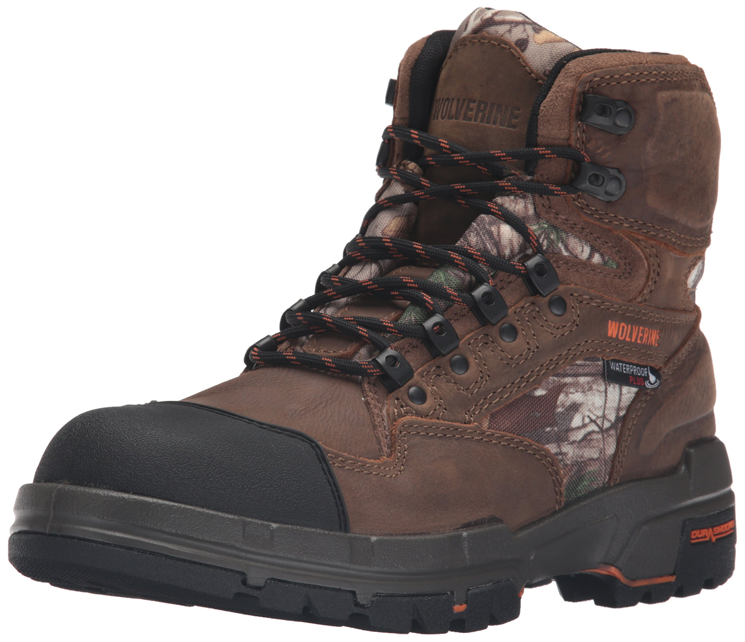 Wolverine Men's Claw Insulated Waterproof Hunting Boot, Brown/Realtree, 8 M US