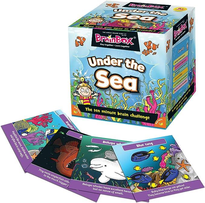 Green Board Games GRE91024 Juego BrainBox: Amazon.es: Juguetes y juegos
