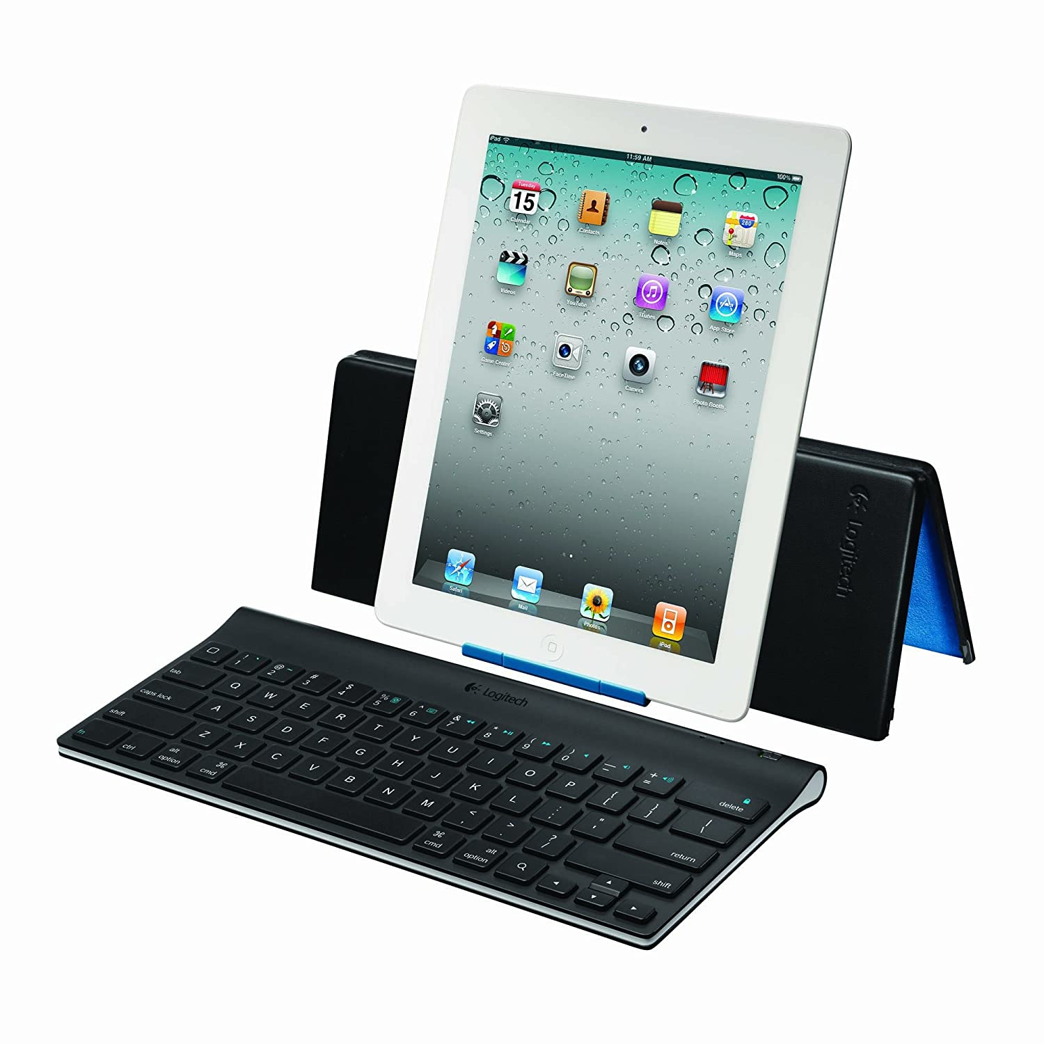 6c3f7008454 Amazon.com: Logitech Tablet Keyboard for iPads: Computers & Accessories