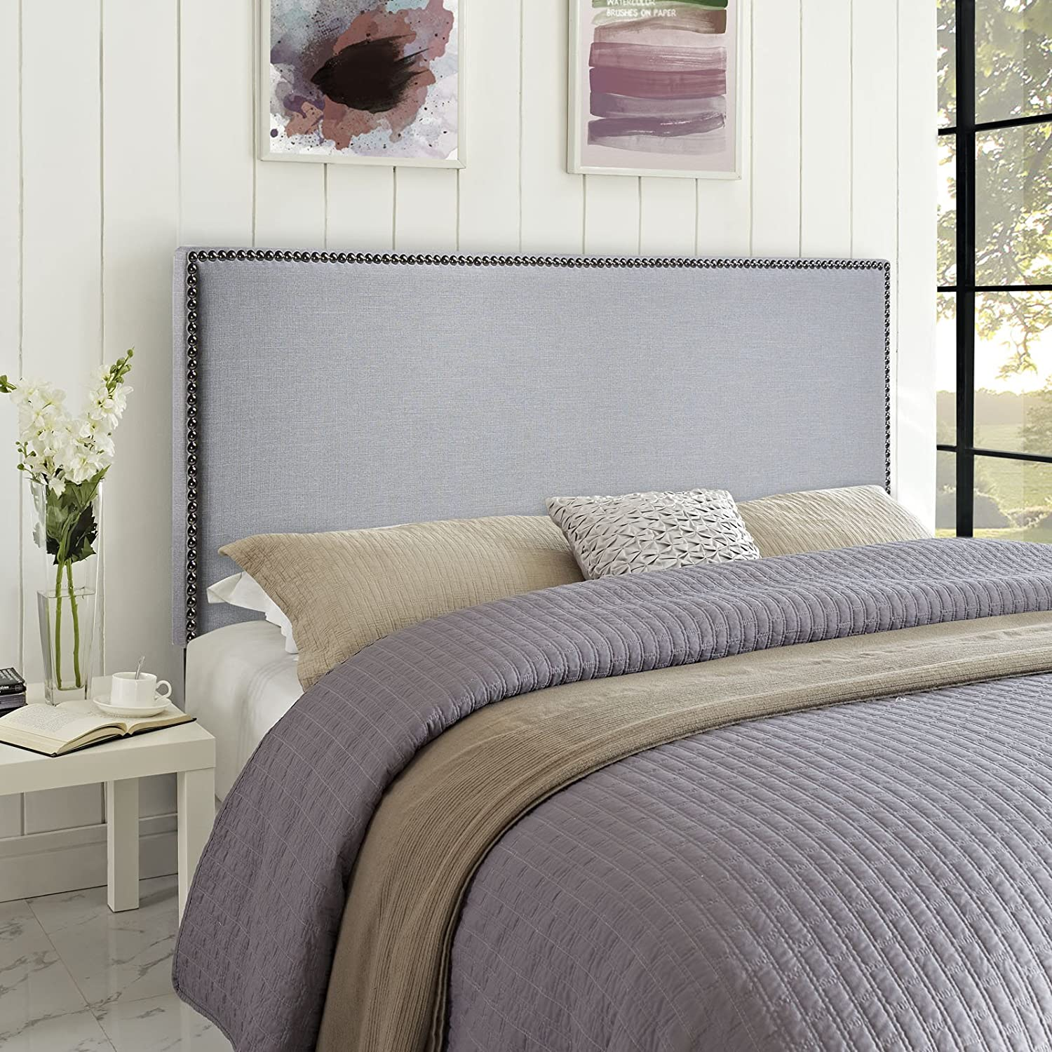 fabric queen size avery studio beige contemporary hb greyish and headboard modern baxton