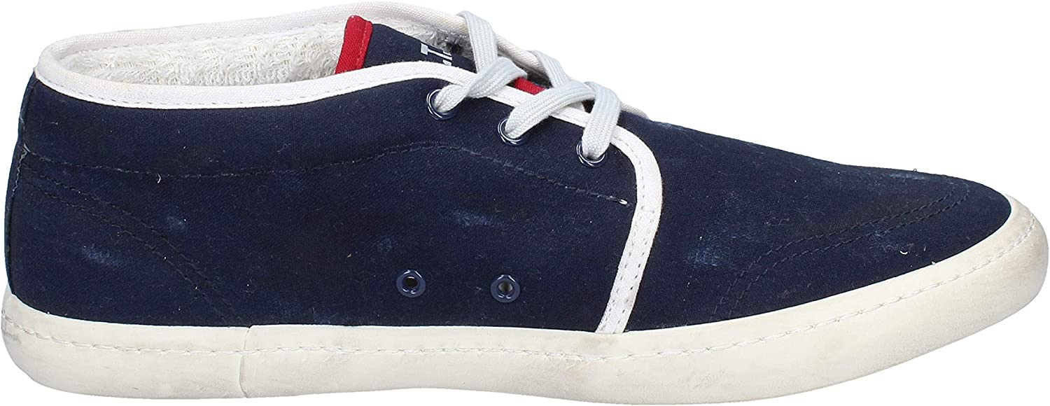 D.A.T.E. Fashion-Sneakers Mens Blue DATE