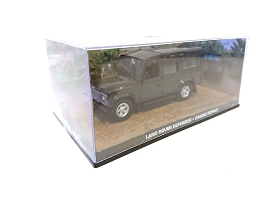 James Bond Land Rover Defender 110 007 Casino Royale 1/43 DY085: Amazon.es: Juguetes y juegos