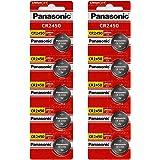 Panasonic CR2450 3 Volt Lihium Coin Cell Battery - 10 Batteries