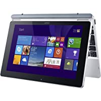 "Acer Aspire Switch 10 SW5-012P-18L0 1.33GHz Z3735F 10.1"" 1280 x 800Pixeles Pantalla táctil Color blanco - Ordenador portátil (Z3735F, Touchpad, Windows 10 Pro, Polímero de litio, 32-bit, Intel® Atom™)"