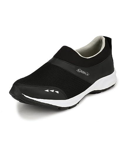 a2613389359dc8 FUCASSO Men s Synthetic Black Slip On Sports Shoes (10 UK)  Buy ...
