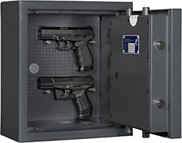 Eisenbach - Caja fuerte para armas cortas KWT 900 EN 1143-1 grado 0: Amazon.es: Bricolaje y herramientas