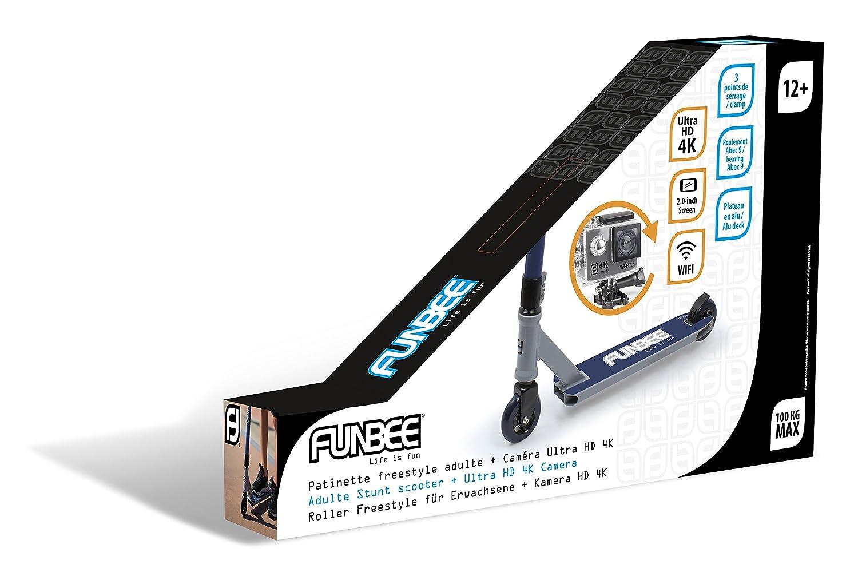 Funbee - Patinete, ofun356-b, Azul: Amazon.es: Juguetes y juegos