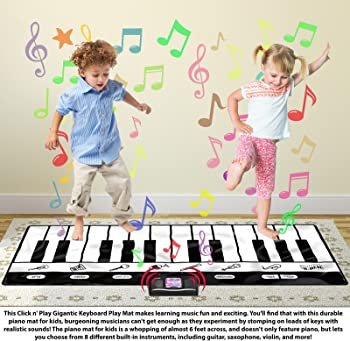 Click N' Play Gigantic Keyboard 24 Keys Piano Play Mat
