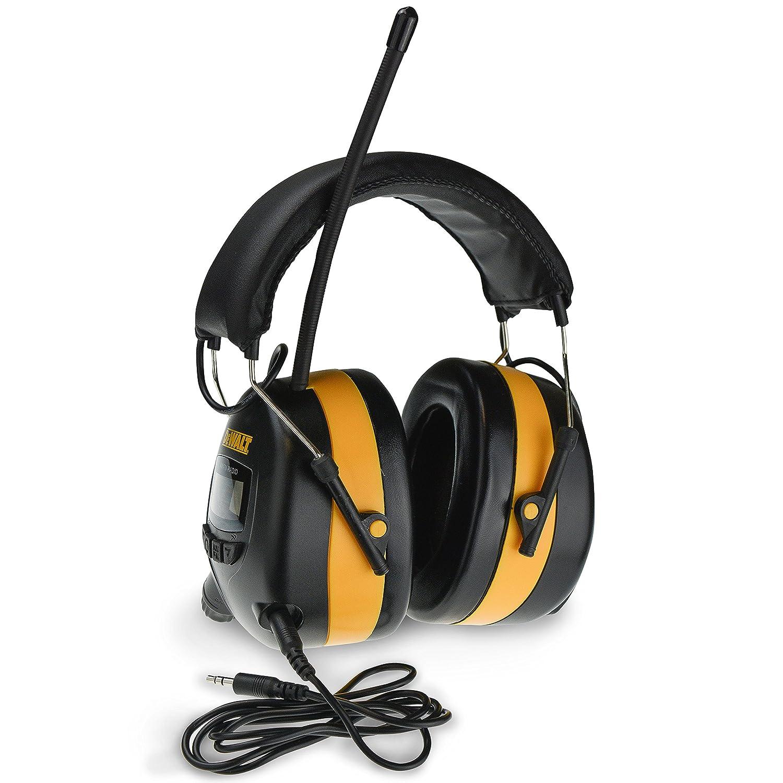 Dewalt Dpg15 Digital Am Fm Hearing Protector Ears And Speakers