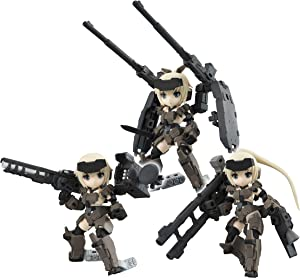 Megahouse Desk Top Army: Frame Arms Girl KT-321f Gourai Series Poseable Figure Set