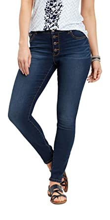 4c1a0af419bfb maurices Denimflex High Rise Jegging - Women s Button Fly Pants at ...