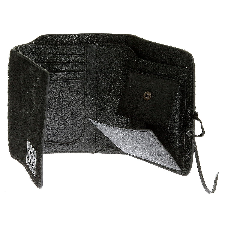 RMC Martin Ksohoh MKWS 3 fold black horse hair portrait wallet 1032-W270 REDM5779