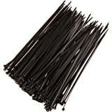 SCHOFIC Cable Zip Ties Heavy Duty 368 MM [Size 14.5 INCH], Ultra Strong Plastic [Polyamide] Wire Ties with 49 Pounds Tensile Strength, Nylon Tie Wraps with 4.8 MM Width (25, Black)