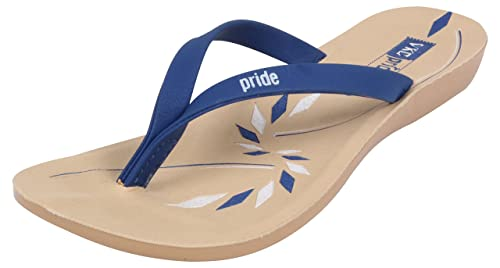 4d36b0ac6bf7c VKC Pride Women s Blue PU Slippers - 3 UK  Buy Online at Low Prices ...