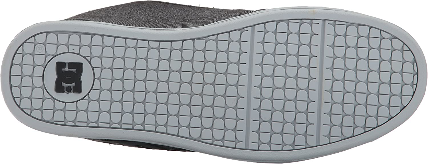 DC Shoes Net M, Chaussures de Skateboard Homme Grey Resin Rinse