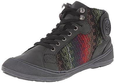 OTBT Women's Providence Fashion Sneaker, Black, ...