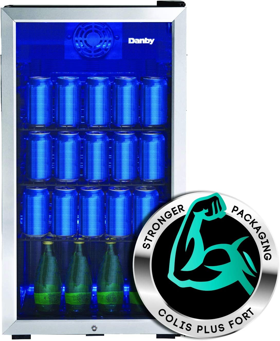 Danby DBC117A1BSSDB-6 Beverage Center