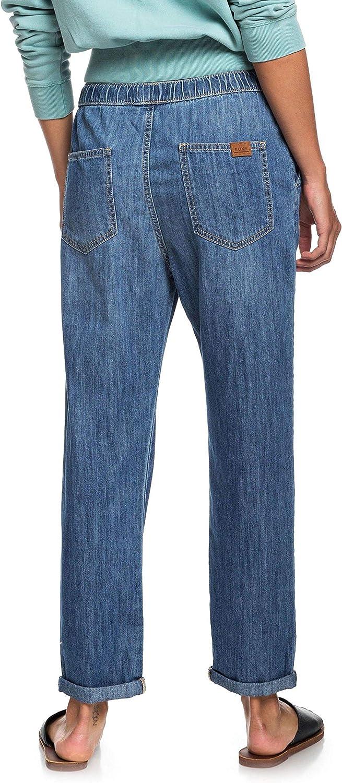 Roxy Slow Swell-Jeans Elasticizzati con vestibilit/à Relaxed da Donna