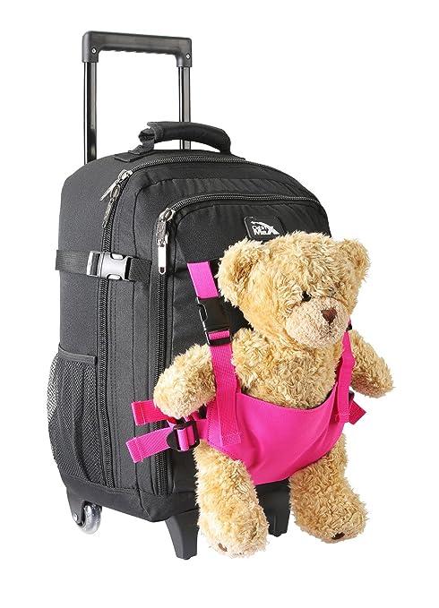 2705b8b029 Cabin Max Bear Bag Trolley per Bambini con Ruote Porta Peluche 50x34x20cm  Valigia Bagaglio a Mano