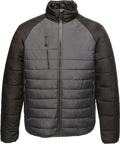 Grey Grey Regatta Men/'s Volter Shield Waterproof Heated Jacket