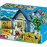 Playmobil - Clínica veterinaria, set de juego (4343)