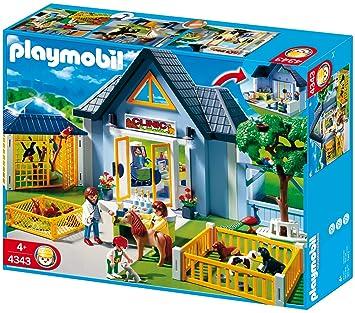 De Vétérinaire Playmobil Construction Clinique Jeu 4343 3RA54Lj