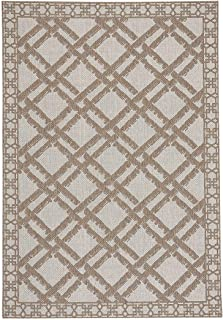 "product image for Capel Elsinore-Bamboo Trellis Wheat 7' 10"" x 11' Rectangle Machine Woven Rug"