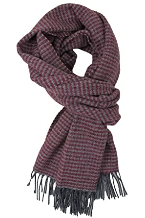Écharpe d hiver en laine pour homme Motif coq Rouge 48 x 180 cm ... 90192b5733d