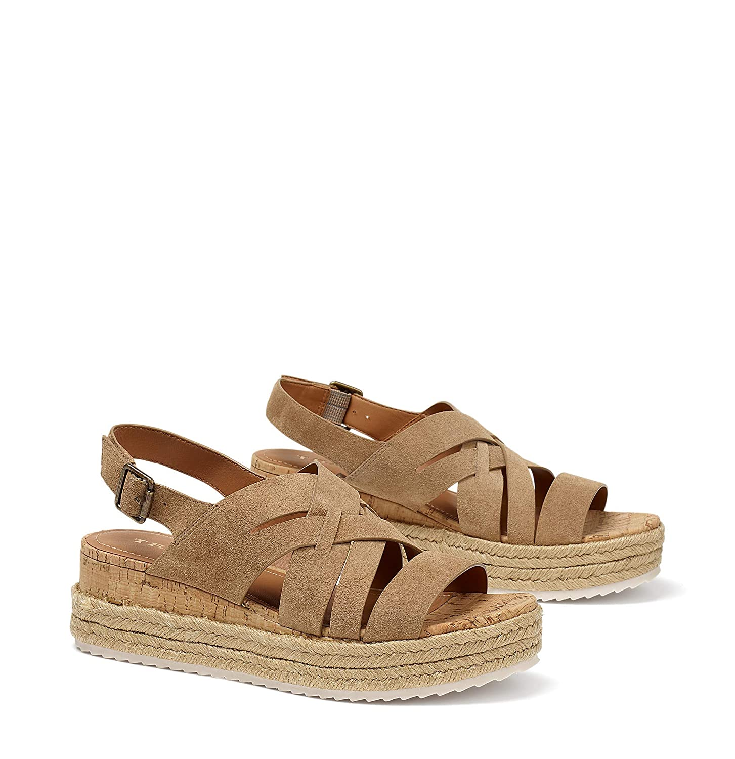 Taupe Oiled Suede Trask Women's Randi