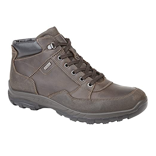 Mens Leather Water Resistant Leisure Shoes