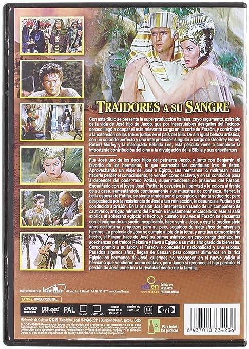Traidores a su sangre [DVD]: Amazon.es: GEOFFREY HORNE, BELINDA ...