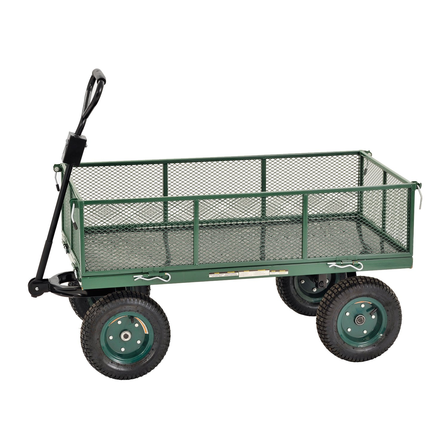 Sandusky Lee CW4824 Muscle Carts Steel Utility Garden Wagon, 1000 lb. Load Capacity, 21-3/4'' Height x 48'' Length x 24'' Width