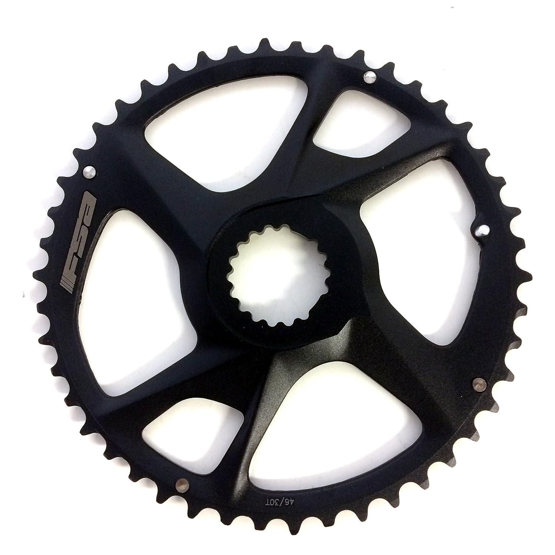 FSA sl-k Modular Adventure自転車Chainring – dmx46tブラックn11 wa077 – 370 – 0040003050 B0777BNQS1