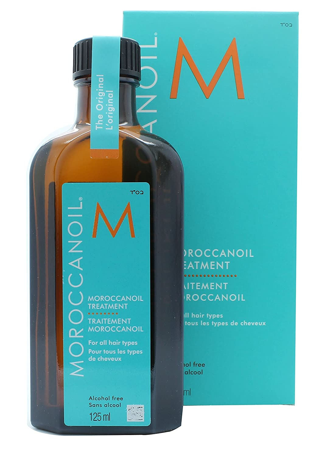 Moroccanoil Treatment for Hair Special Edition Pump, 125 mL/4.23 oz. 701191897911