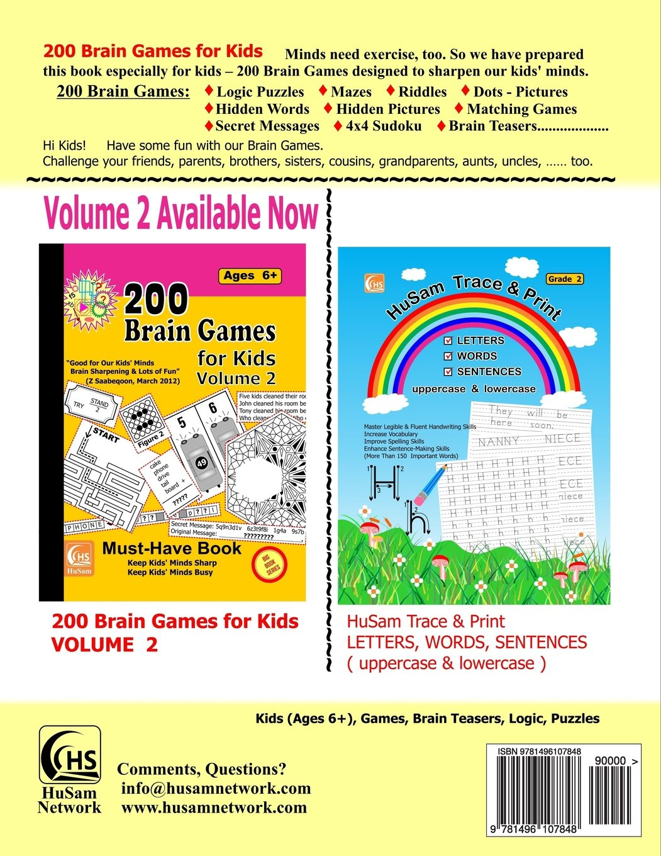 200 brain games for kids big book series husam network
