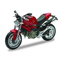 New Ray - 44023 A - Véhicule Miniature - Modèles À L'échelle - Moto Ducati Monster 1100 - Echelle 1/12- Coloris aléatoire
