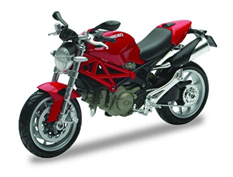 Amazon Com New Ray 44023 A Model Car 1 12 Scale Ducati Monster 1100